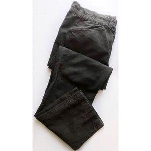 Isabel Etoile Marant•Black Paperbag Trouser Pants